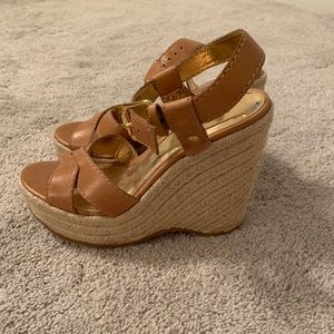 Michael Kors lightly worn wedge sandals 7.5
